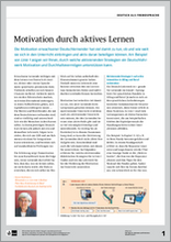 Klett Tipps 63: Motivation durch aktives Lernen