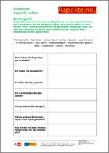 Unterrichtsmaterial Erwachsene | B1 | Kommunikation