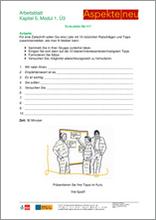 Unterrichtsmaterial Erwachsene B1 Kommunikation